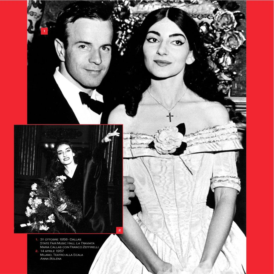 Music Hall La Traviata Maria Callas