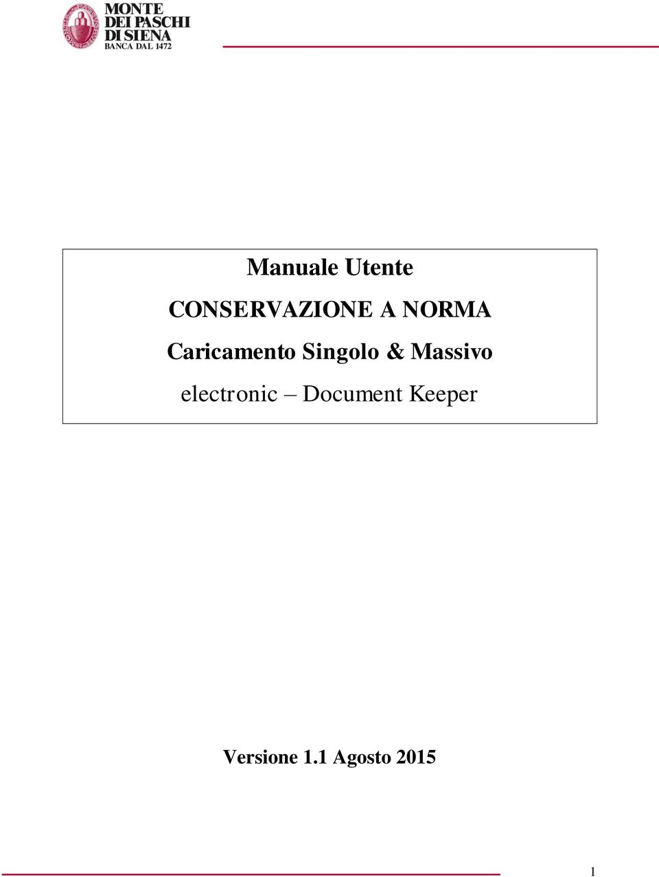 Massivo electronic Document