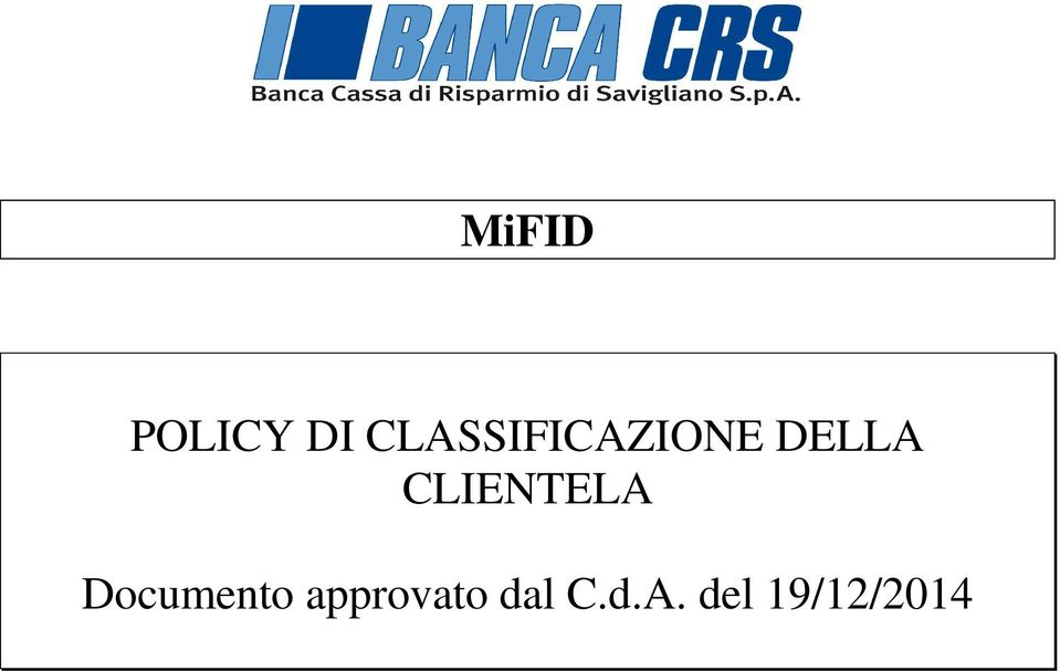 CLIENTELA Documento