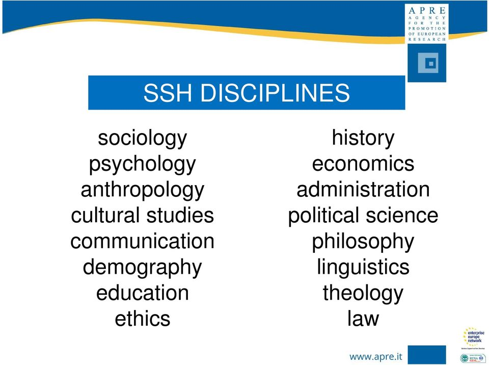demography education ethics history economics