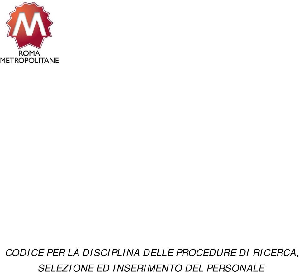 PROCEDURE DI RICERCA,