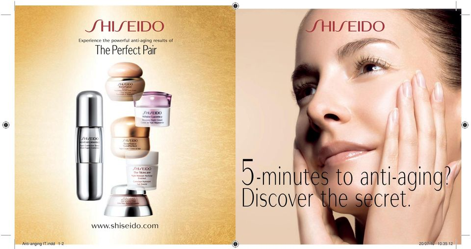 anti-aging? Discover the secret. www.
