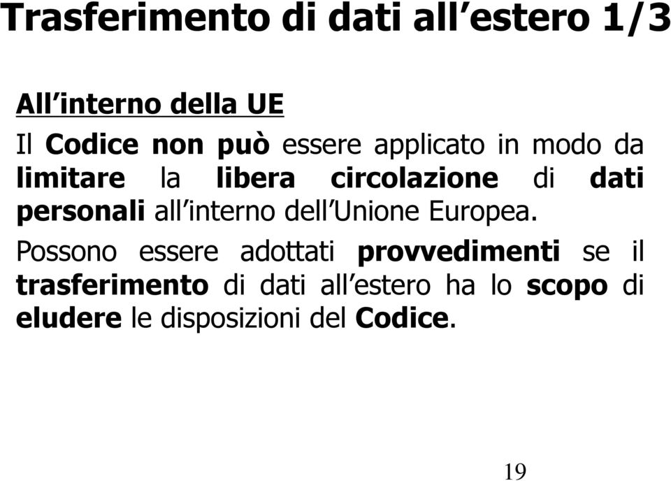 all interno dell Unione Europea.