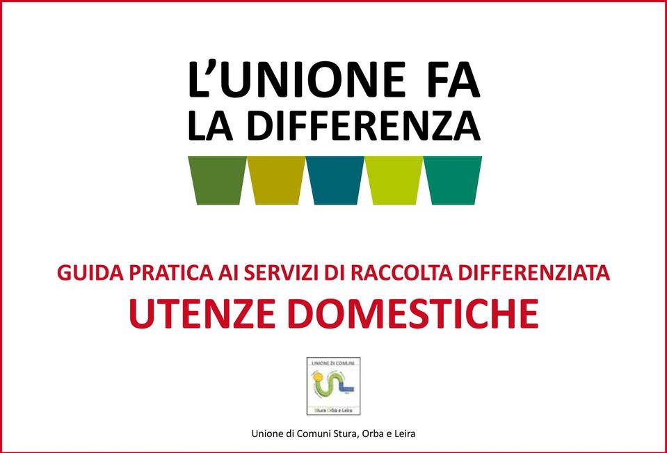 differenziata Utenze domestiche