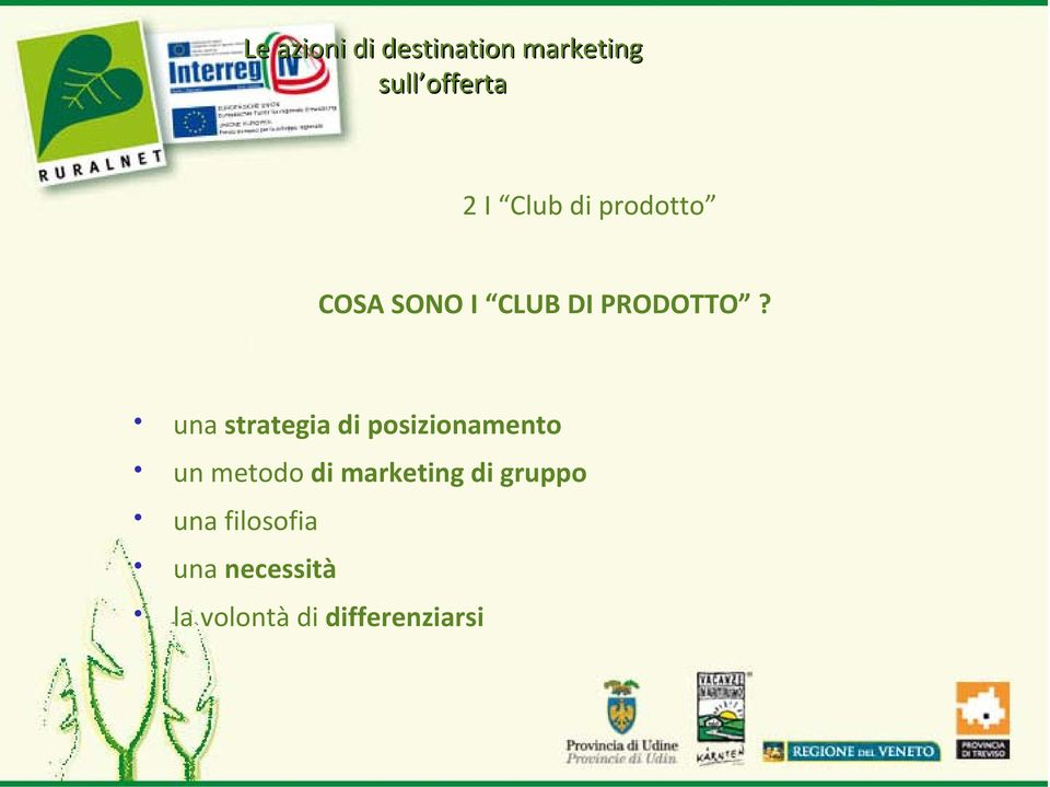 una strategia di posizionamento un metodo di marketing