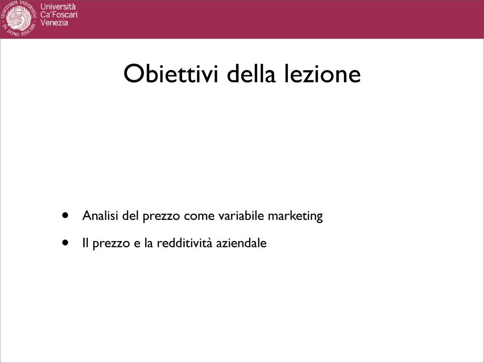 variabile marketing Il