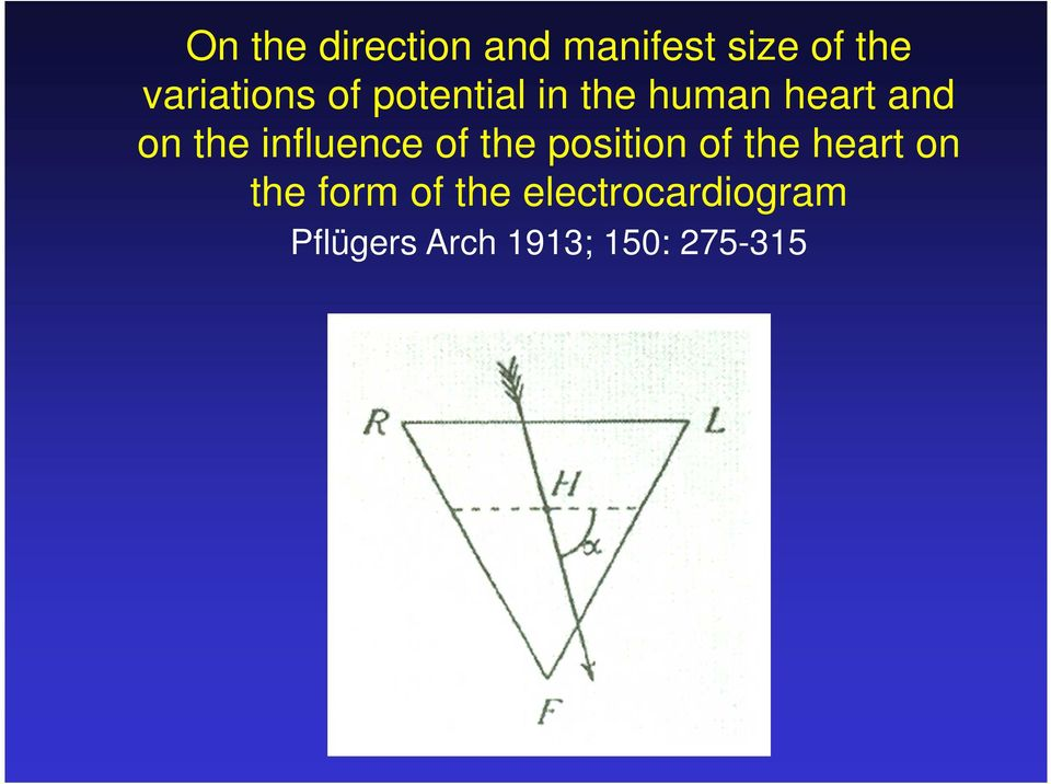the influence of the position of the heart on the