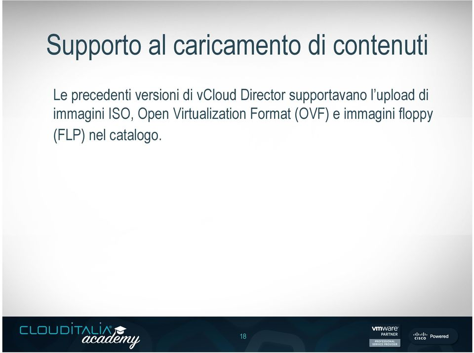 supportavano l upload di immagini ISO, Open
