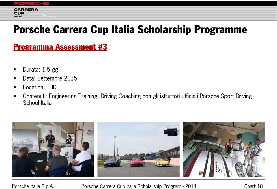 Engineering Training, Driving Coaching con gli