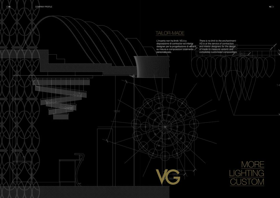 There is no limit to the enchantment: VG is at the service of contractors and interior designers