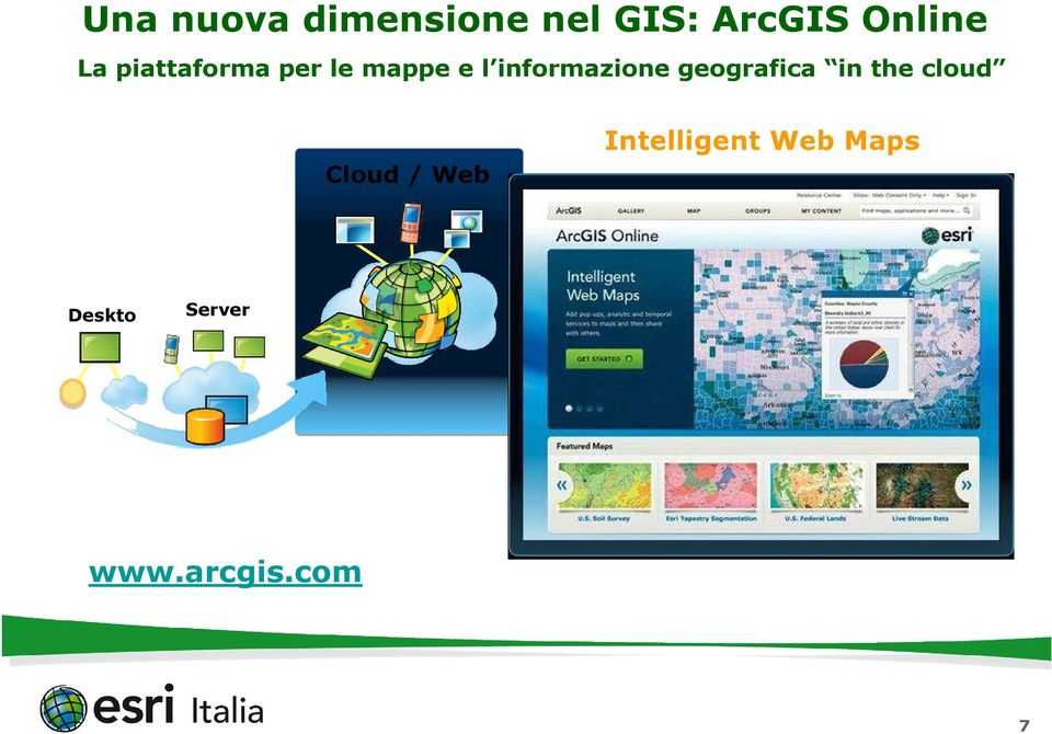 geografica in the cloud Cloud / Web