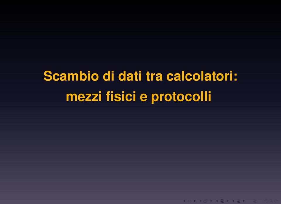 calcolatori: