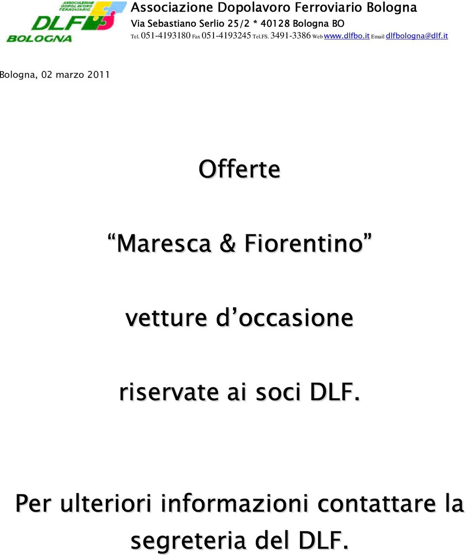 it Email dlfbologna@dlf.