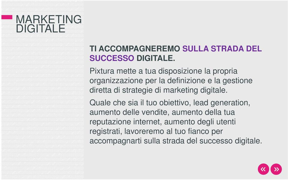 strategie di marketing digitale.