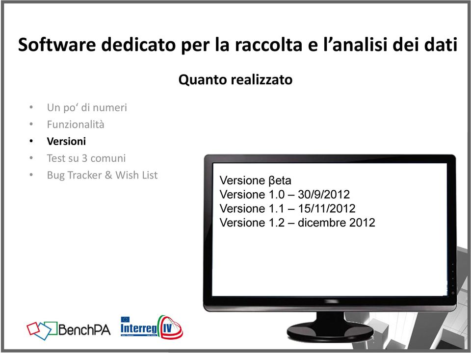 Tracker & Wish List Versione βeta Versione 1.