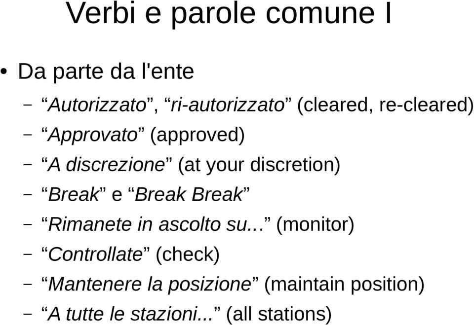 discretion) Break e Break Break Rimanete in ascolto su.