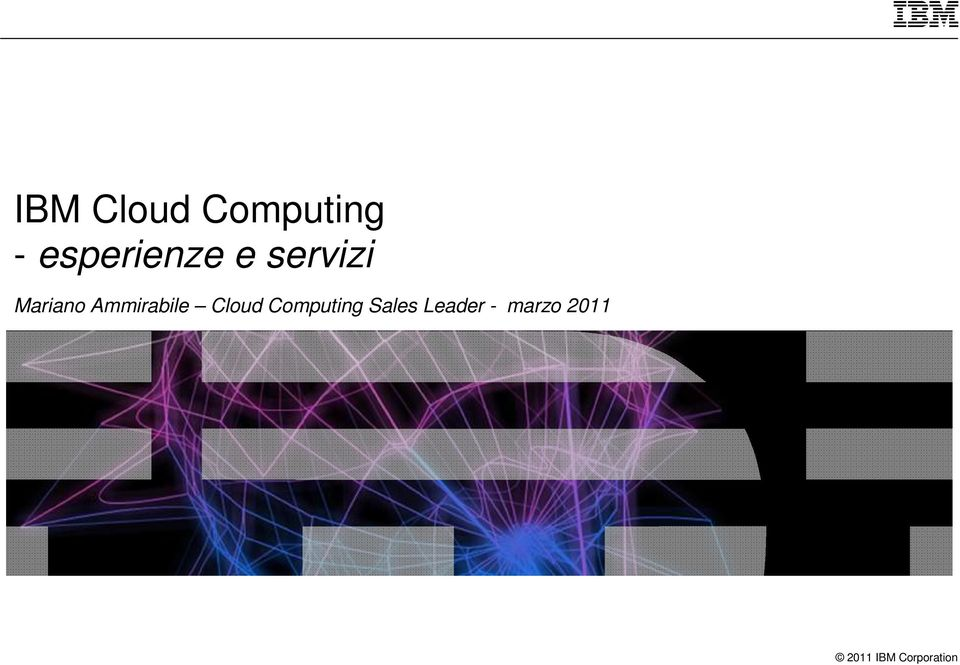 Ammirabile Cloud Computing