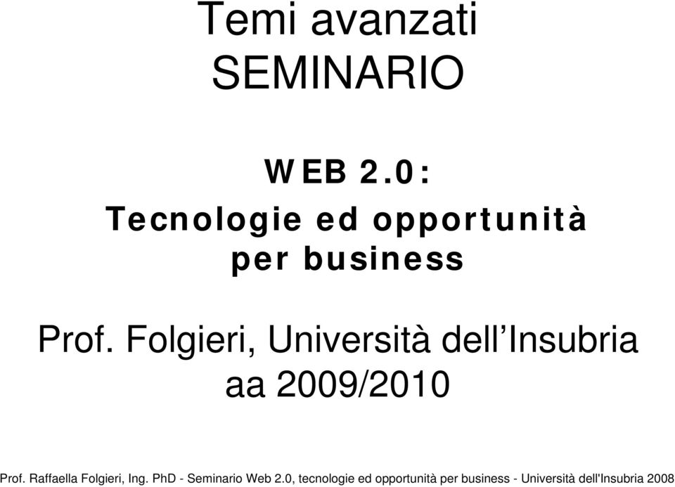 per business Prof.