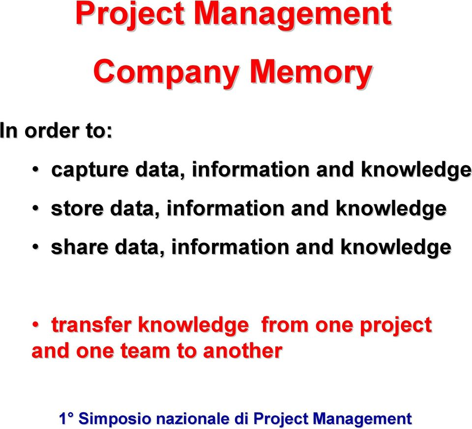 and knowledge share data, information and knowledge