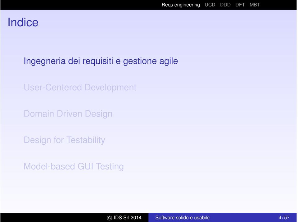 Design Design for Testability Model-based GUI