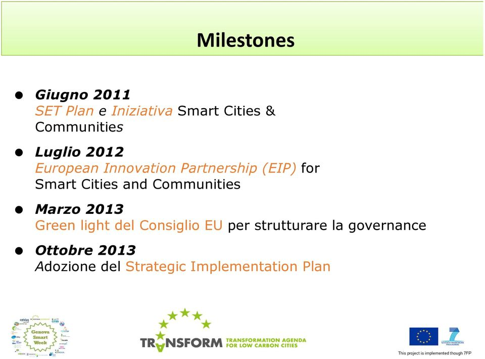 Smart Cities and Communities Marzo2013 Green light del Consiglio EU