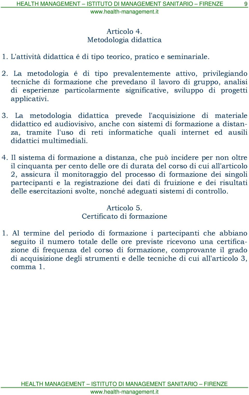 applicativi. 3.