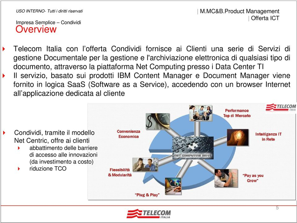 Manager e Document Manager viene fornito in logica SaaS (Software as a Service), accedendo con un browser Internet all applicazione dedicata al cliente