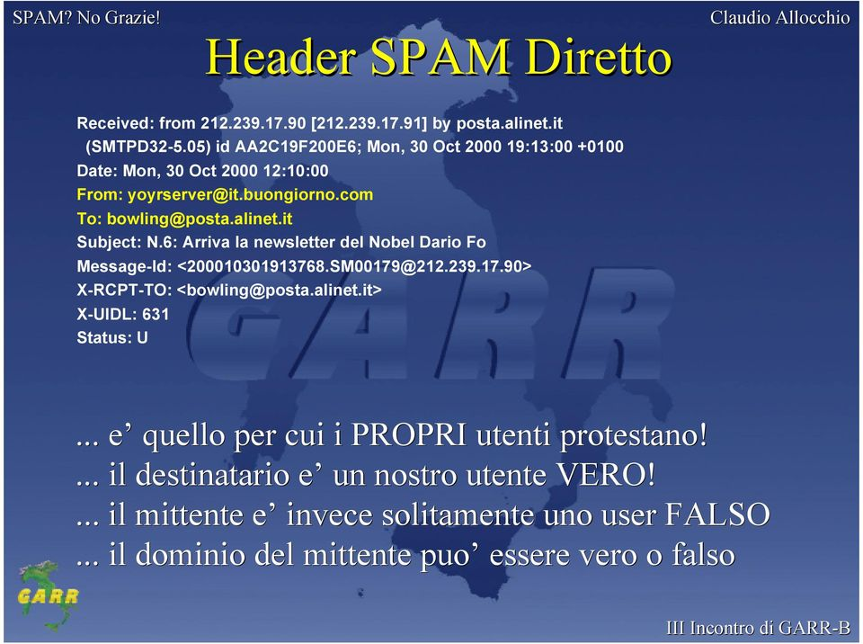 it Subject: N.6: Arriva la newsletter del Nobel Dario Fo Message-Id: <200010301913768.SM00179@212.239.17.90> X-RCPT-TO: <bowling@posta.alinet.