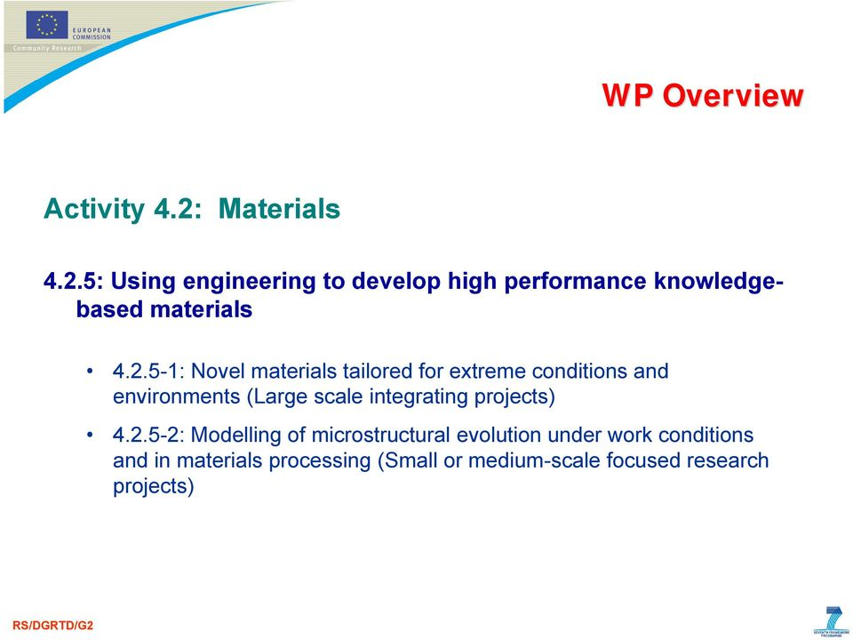 5: Using engineering to develop high performance knowledgebased materials 4.2.