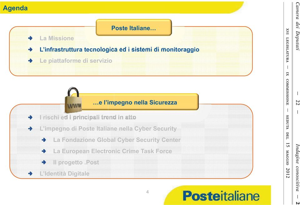 Global Cyber Security Center Il progetto.
