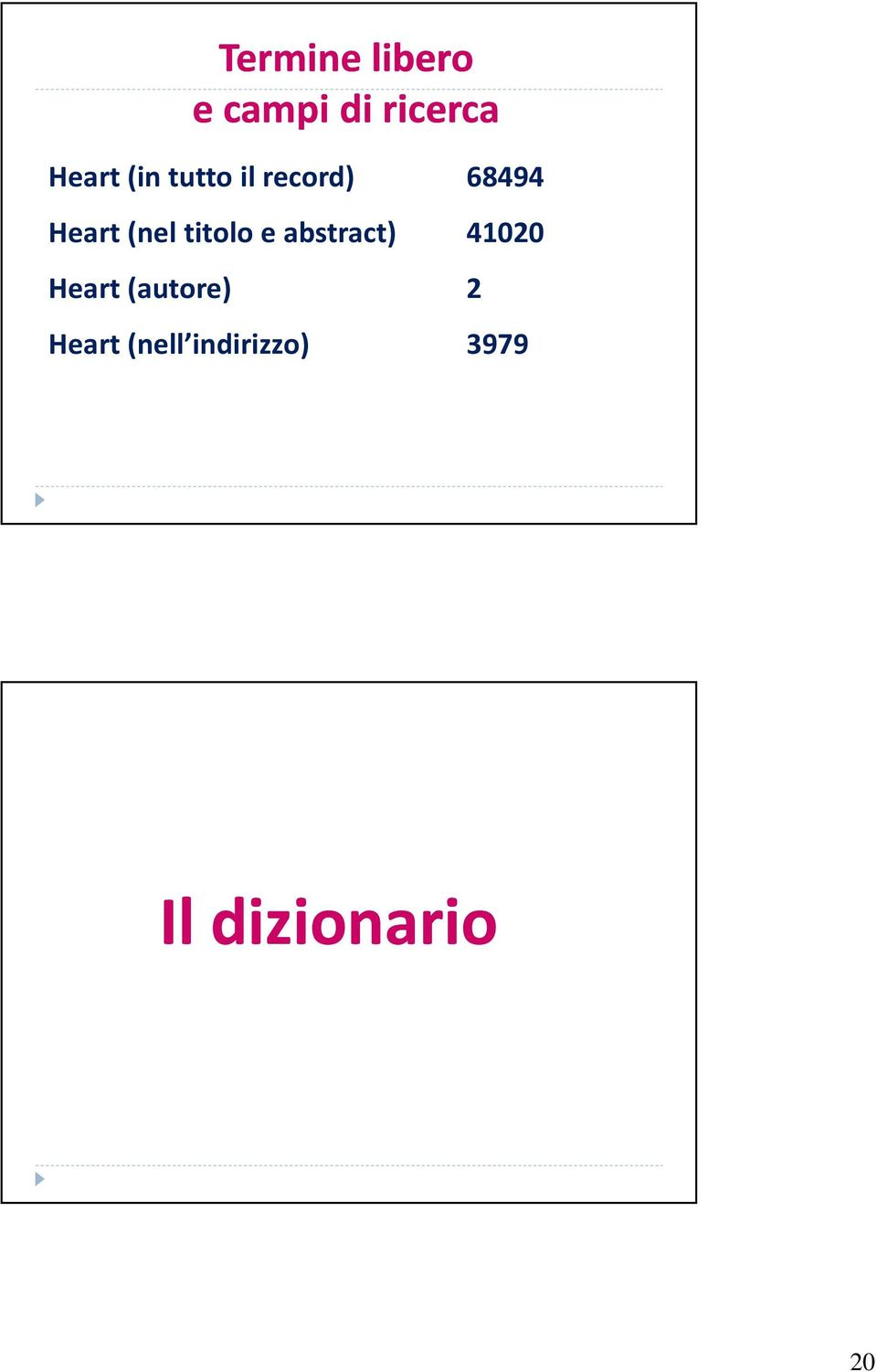 titolo e abstract) 41020 Heart (autore)