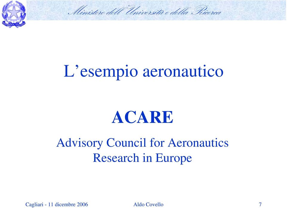 Aeronautics Research in Europe