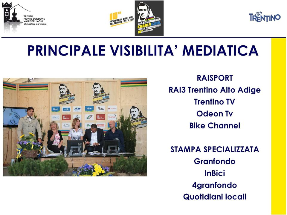 Odeon Tv Bike Channel STAMPA