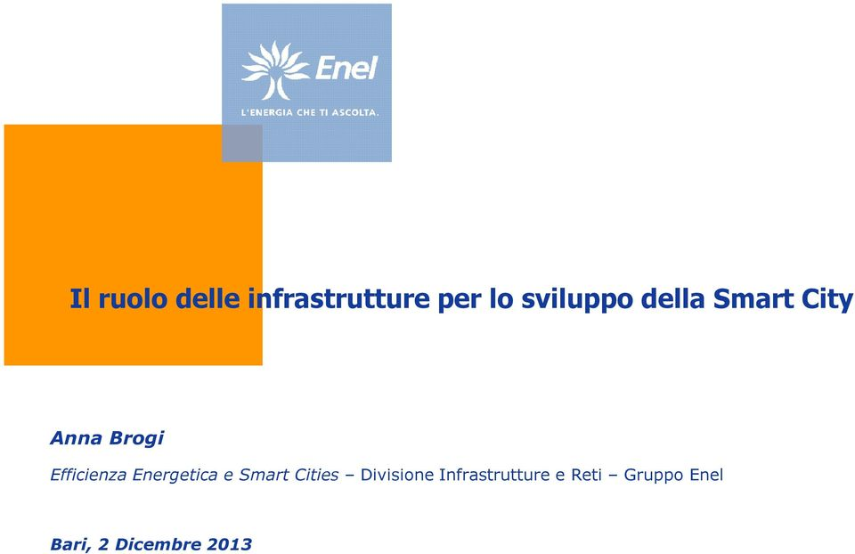 Efficienza Energetica e Smart Cities