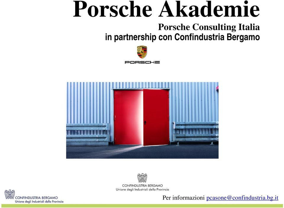 partnership con Confindustria