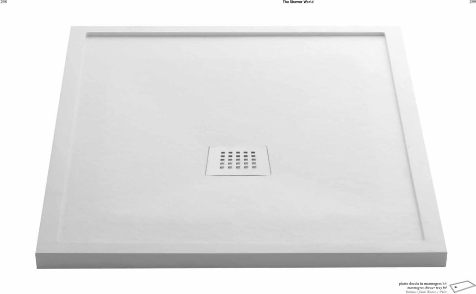 h4 marmogres shower tray h4
