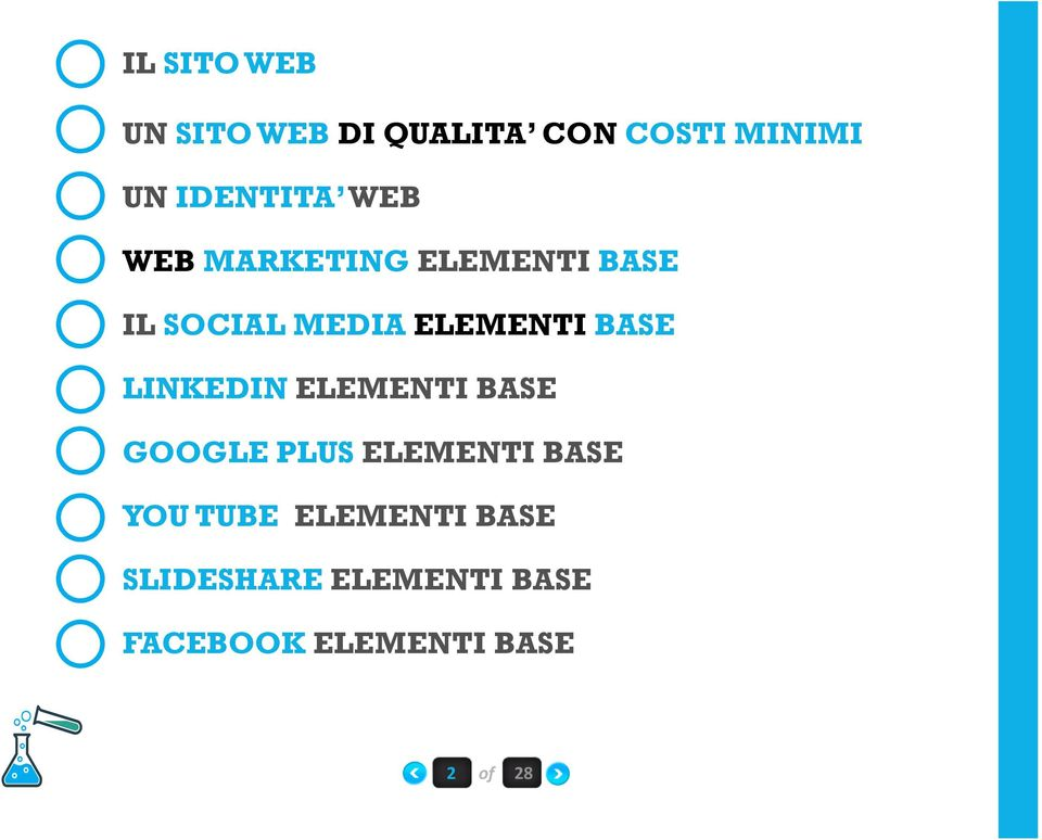ELEMENTIBASE LINKEDINELEMENTI BASE GOOGLE PLUS ELEMENTI BASE