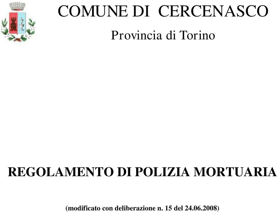 POLIZIA MORTUARIA (modificato