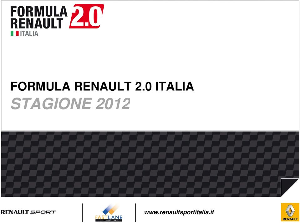 STAGIONE 2012