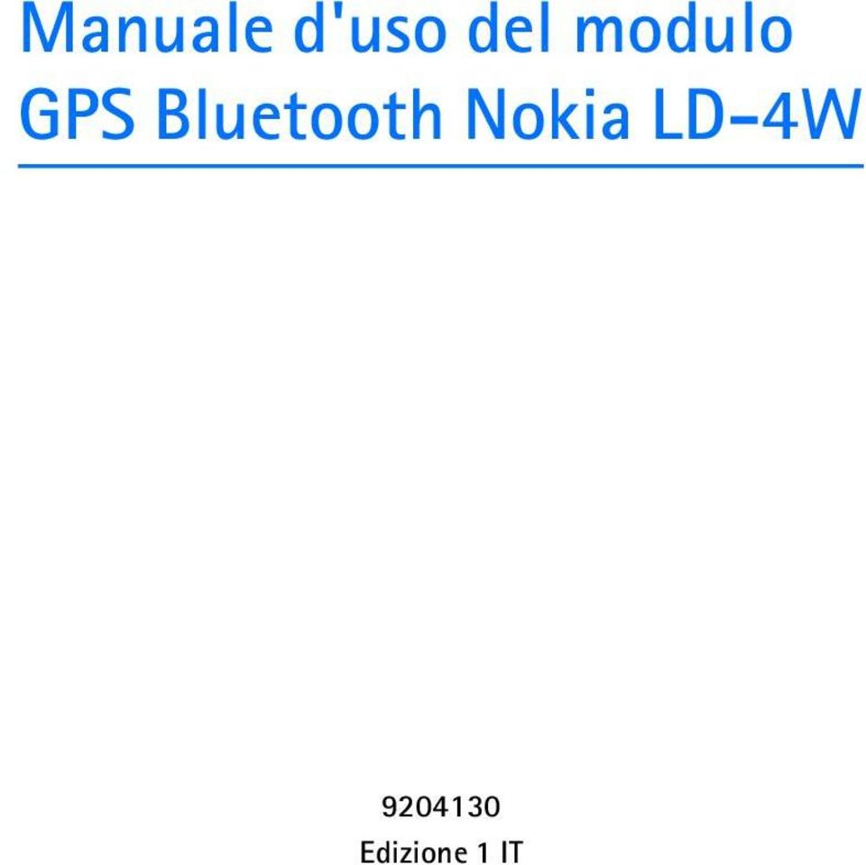 Bluetooth Nokia