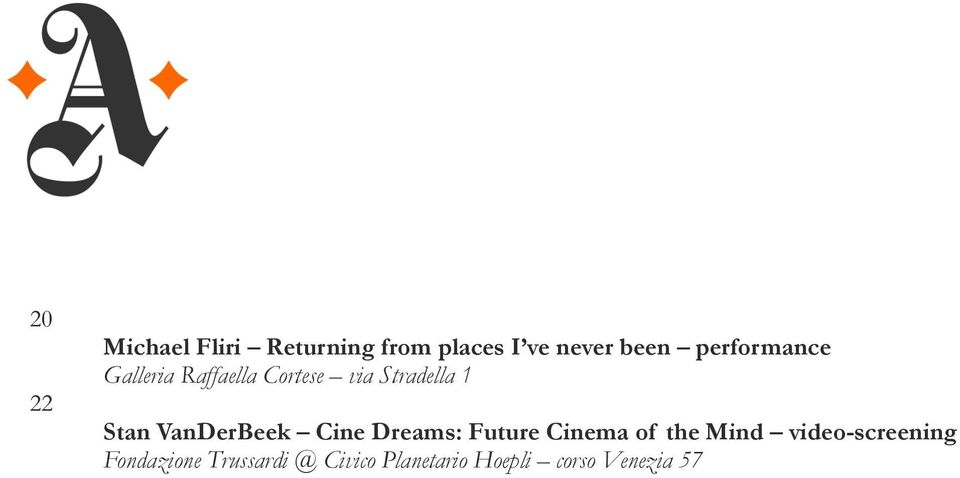 VanDerBeek Cine Dreams: Future Cinema of the Mind