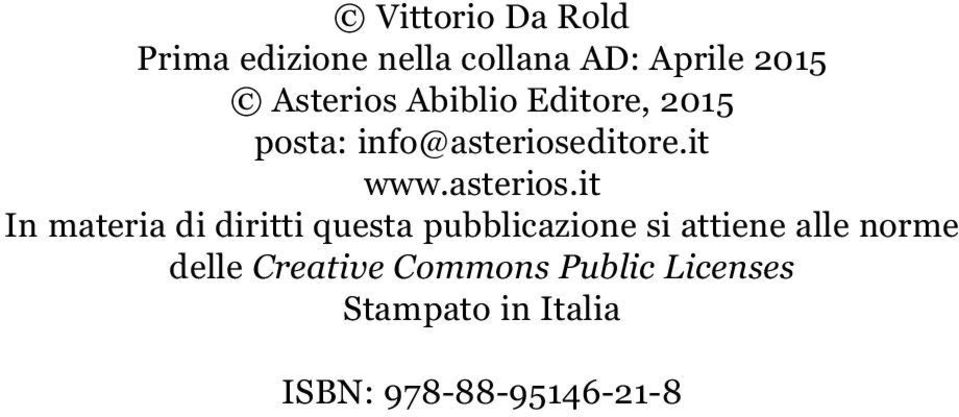 ditore.it www.asterios.