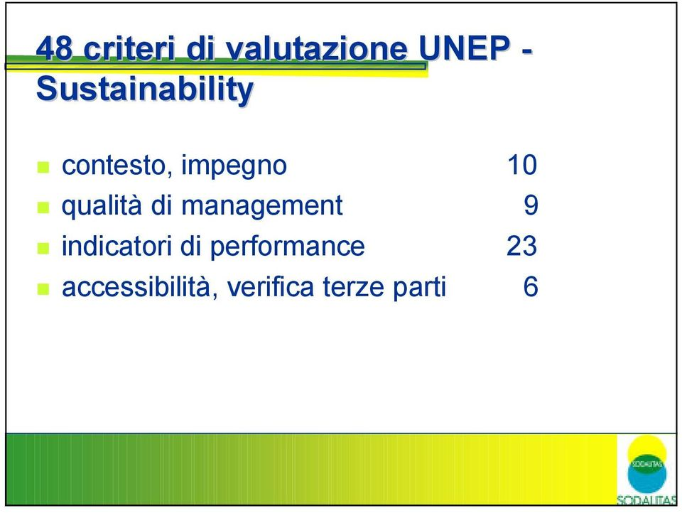 qualità di management 9 indicatori di