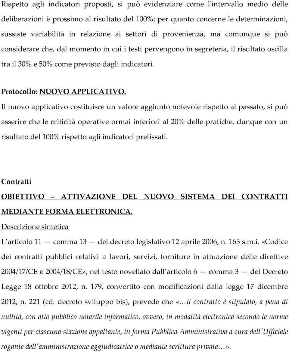 Protocollo: NUOVO APPLICATIVO.