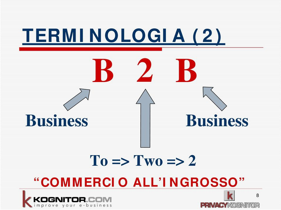 Business To => Two