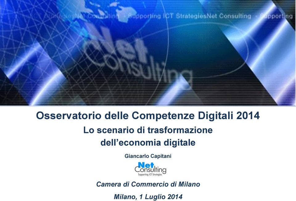 economia digitale Giancarlo