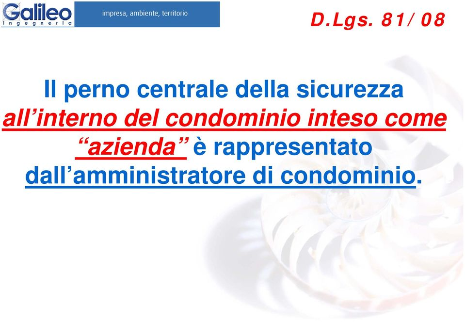 sicurezza all interno del