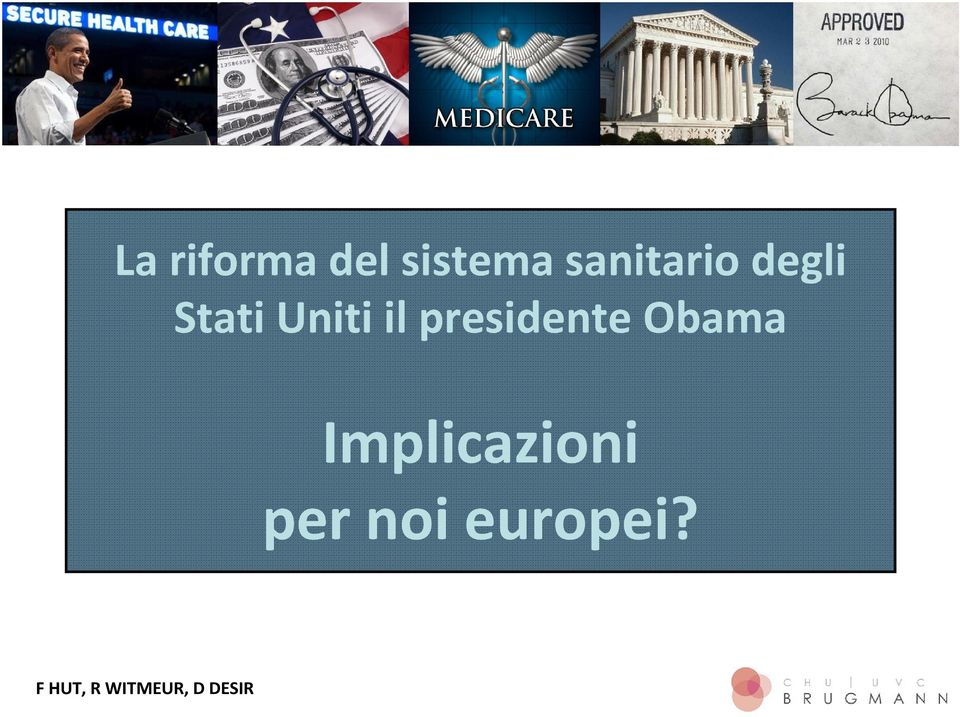 presidente Obama Implicazioni