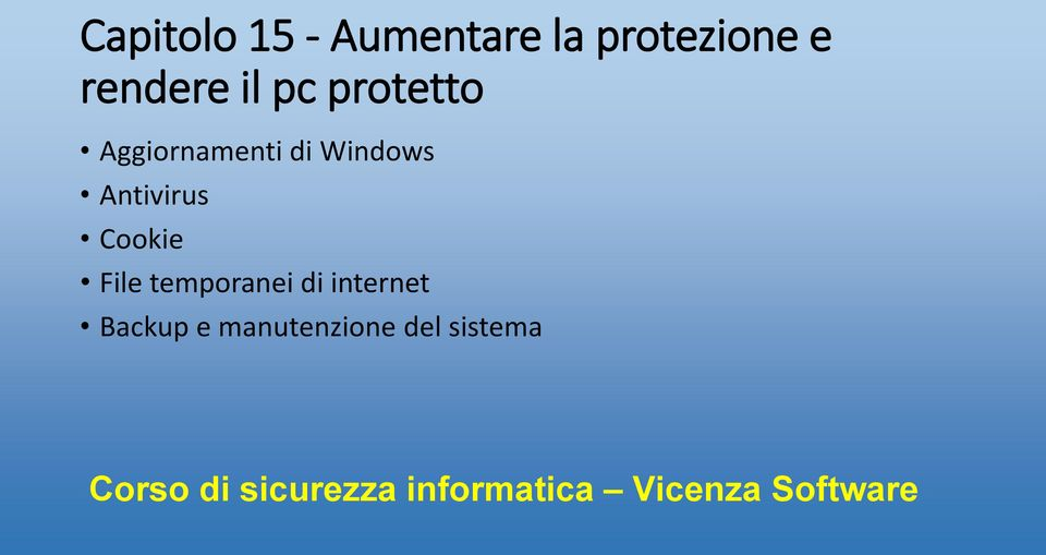 Windows Antivirus Cookie File temporanei