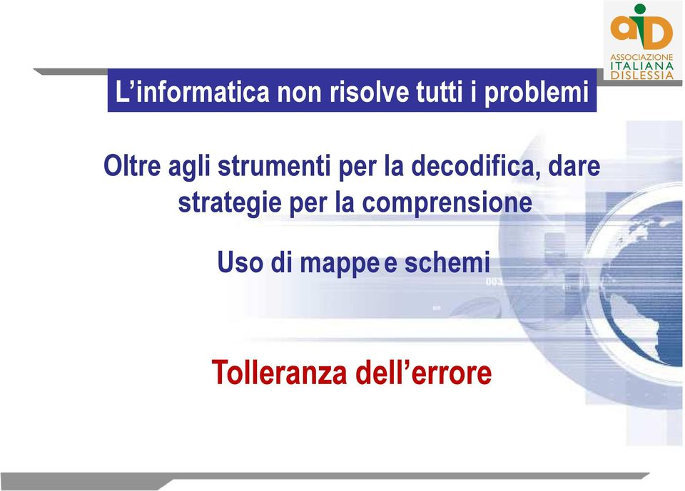 decodifica, dare strategie per la